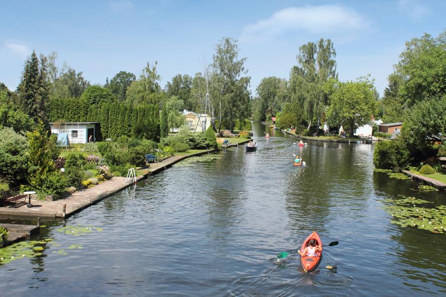 Kanäle Klein Venedig nahe Yachthafen