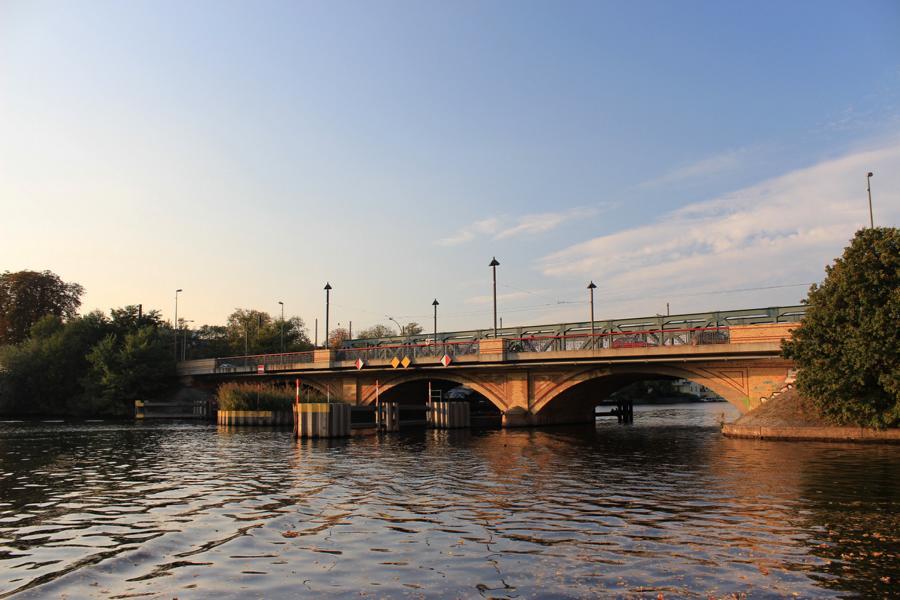 Kanal Richtung Altstadt Köpenick vom Bottsanliegeplatz Schmöckwitz