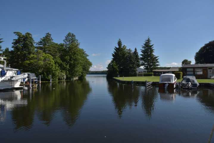 Langer See mit Zufahrt zum Langen See